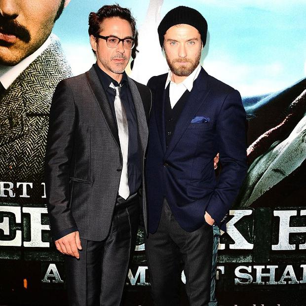 Robert Downey Jr and Jude Law are back as Holmes and Watson