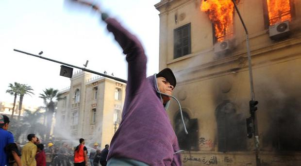 Anti-government protesters in Egypt have been involved in further clashes with police (AP)