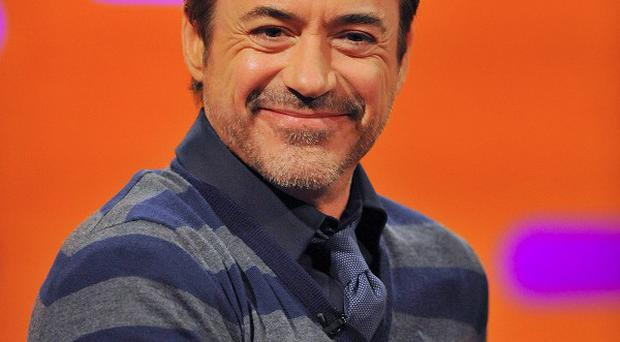 Robert Downey Jr has no problems working with his wife