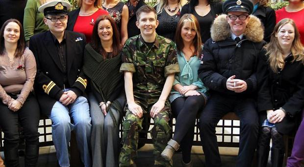 The Military Wives' song Wherever You Are is expected to top the music charts this Christmas