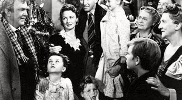 Christmas spirit: It's A Wonderful Life is a sweet old-fashioned story but the festive season can leave you feeling Scrooge-like