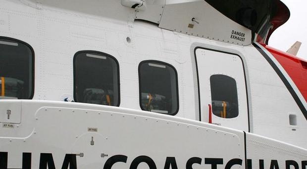 Falmouth Coastguard has said a fisherman died after the boat he was on sank