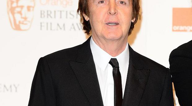 Sir Paul McCartney loves celebs coming to his gigs