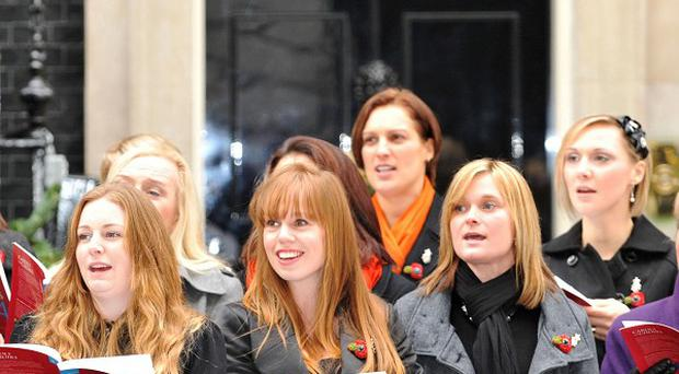 The Treasury has agreed to waive VAT on a single by the Military Wives choir which will benefit armed forces charities