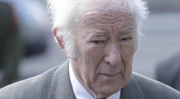 Seamus Heaney said it was 'a privilege and honour' to donate his literary notes to the National Library of Ireland
