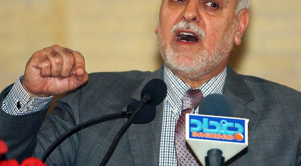Iraq's vice President Tariq al-Hashem has a government arrest warrant out against him (AP)
