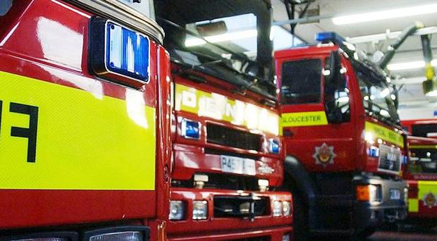 Firefighters tackled huge flames seen shooting into the sky at Lancashire Enterprise Business Park in Leyland