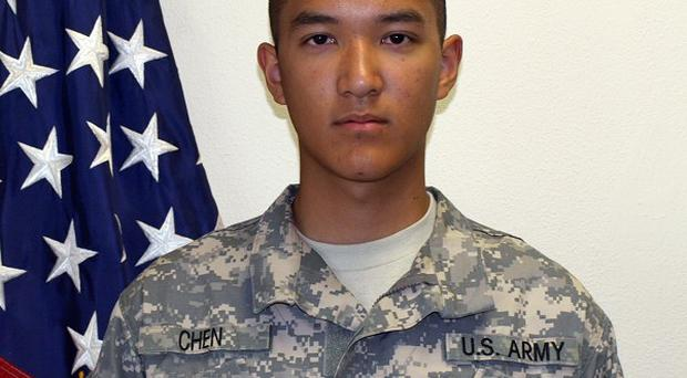 US private Danny Chen,19, who died in Afghanistan, eight American soldiers have been charged in connection with his death (AP)