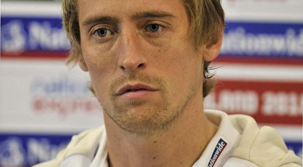 The Cheshire home of England striker Peter Crouch has been targetted by burglars