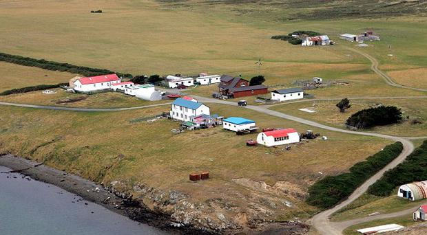 The Foreign Office said it is 'very concerned' about Argentina's attempt to 'isolate' the Falkland Islands