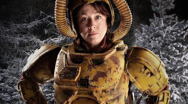 Arabella Weir said she was like one of The Three Stooges on Doctor Who