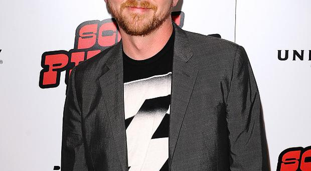 Simon Pegg is good friends with co-star Tom Cruise