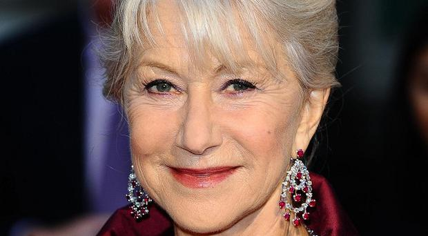 Dame Helen Mirren won't be appearing in person on the show