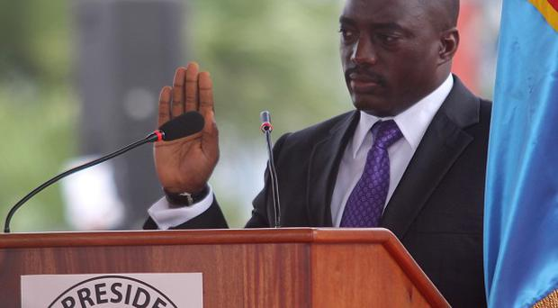 Security forces have used force to quell dissent after President Joseph Kabila's much-criticised re-election