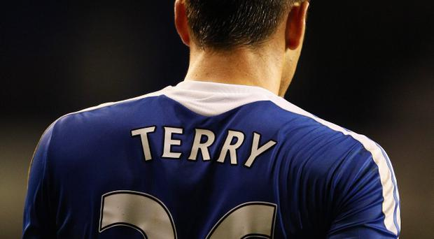 LONDON, ENGLAND - DECEMBER 22: John Terry of Chelsea wears the number 26 shirt during the Barclays Premier League match between Tottenham Hotspur and Chelsea at White Hart Lane on December 22, 2011 in London, England. (Photo by Richard Heathcote/Getty Images)