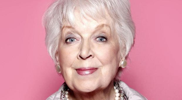 June Whitfield reprises her role as Mother