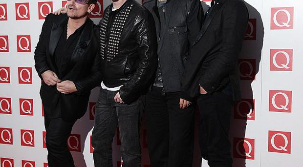 U2 topped the list this year for their tour
