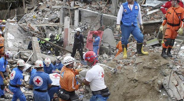 A rescue operation for people caught up in a pipeline explosion in Colombia has been brought to an end (AP)