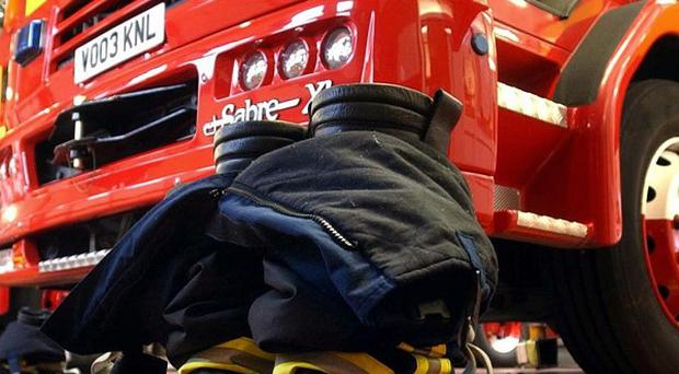 A good night of television has been thanked for a quiet bonfire night for fire crews