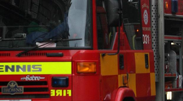 Firefighters have found the body of an elderly man in a burnt-out Co Wexford farmhouse