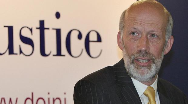 Justice Minister David Ford has yet to rule on courthouse closure proposals