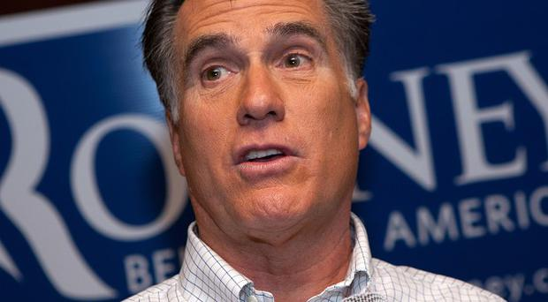 Mitt Romney, the Republican presidential candidate
