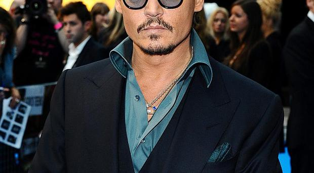 Johnny Depp lost the top spot in the IMDb annual list