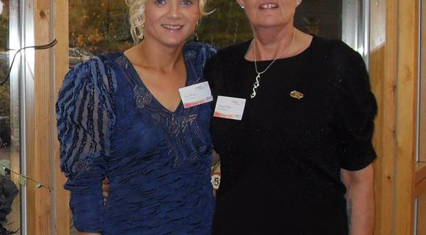 f473990388 New look: Claire (left) and Theresa changed their lives after losing more  than