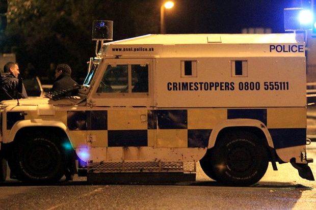 The PSNI Land Rover was travelling at 47mph. Image displayed for illustration purposes only.