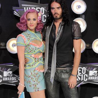 Katy Perry and Russell Brand spent Christmas apart