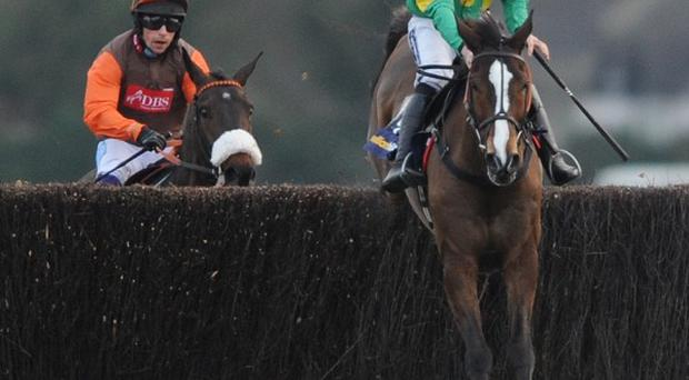 Kauto Star jumps the last with Long Run in tow