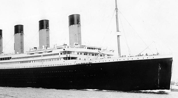 The RMS Titanic pictured in 1912
