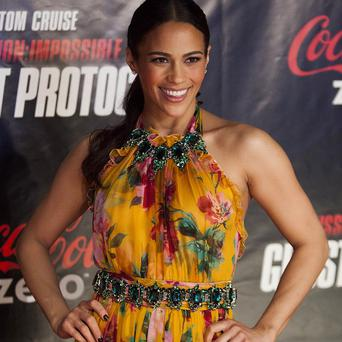 Paula Patton reckon sher young son has been her good luck charm