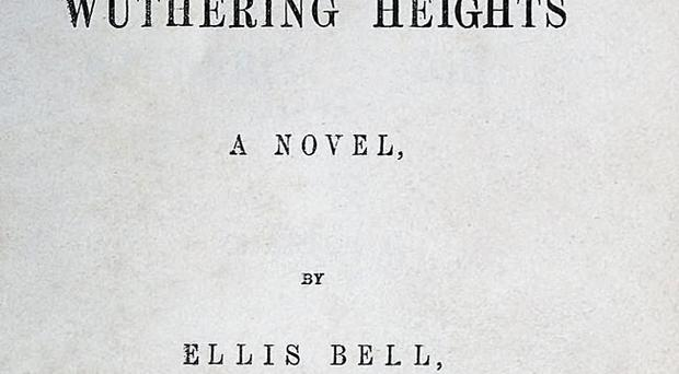 Wuthering Heights was released under the pseudonym Ellis Bell