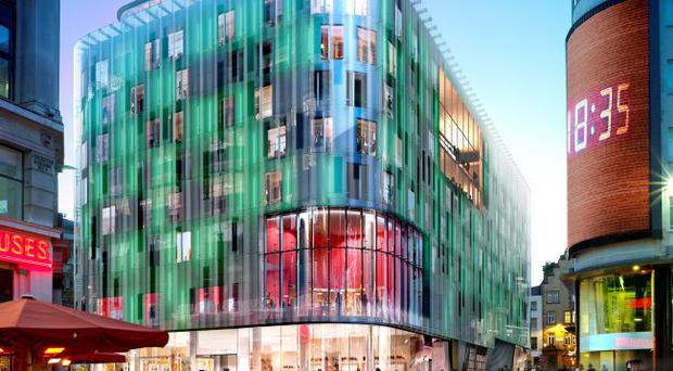 The W London Hotel at Leicester Square is one of the high-profile contracts in Britain which McAleer & Rushe has worked on. The company will record an operating profit for 2011, a turnaround from 2010