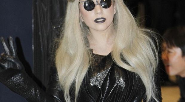 Lady Gaga has been seen out and about with her boyfriend for the first time