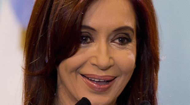 Argentina's president Cristina Fernandez has been diagnosed with treatable thyroid cancer (AP)