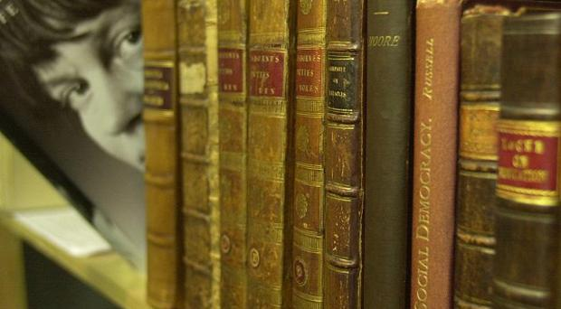 A second-hand bookshop in Somerset has been saved after almost 300 people invested money to form a community co-operative