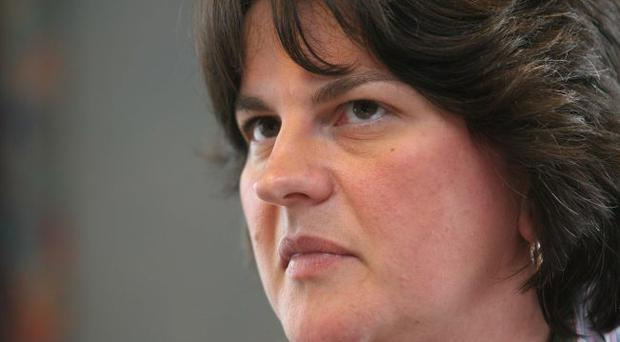 Determined: Arlene Foster says the Assembly is working with the Coalition to set Northern Ireland's own Corporation Tax rate