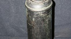The Thermos flask used to feed Titanic survivor baby, Barbara Dainton-West