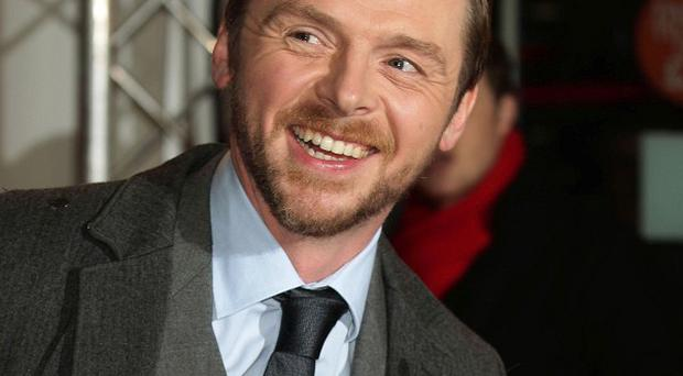 Simon Pegg would like to try his hand at more dramatic roles