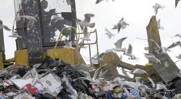 People in Belfast have been urged to recycle more in a bid to stop more waste going to landfill