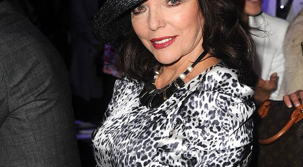 Joan Collins said she'd love a role in Downton Abbey