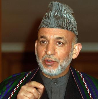 Hamid Karzai said his government would accept a Taliban liaison office in Turkey in the interests of peace talks