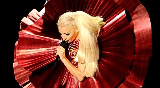 Lady Gaga will headline the annual Dick Clark TV event in the US