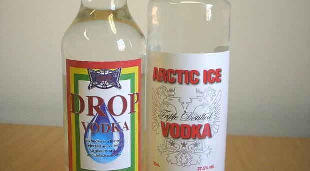 Revellers have been warned about buying cheap alcohol such as counterfeit vodka (Nottinghamshire County Council)