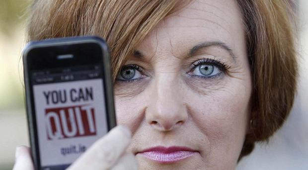 Pauline Bell, whose husband died from a heart attack, appears in a new anti-smoking campaign
