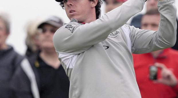 Rory Mcllroy has capped a fine 12 months by receiving an MBE in the New Year Honours list