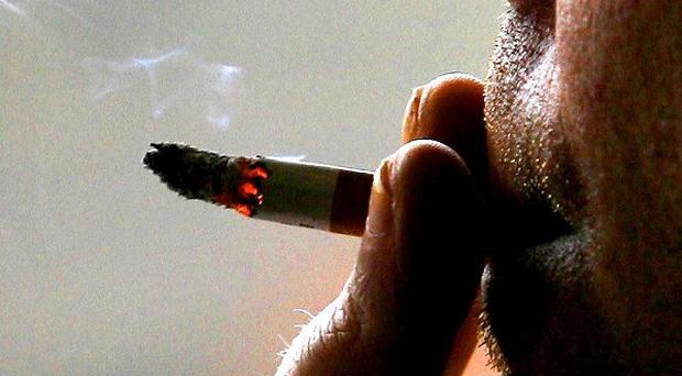 The number of deaths from smoking-related diseases is more than 80,000 per year