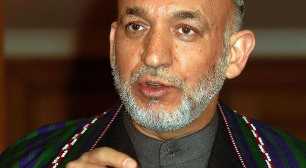 Hamid Karzai said he hoped the message from the White House would help Afghans reach peace and stability